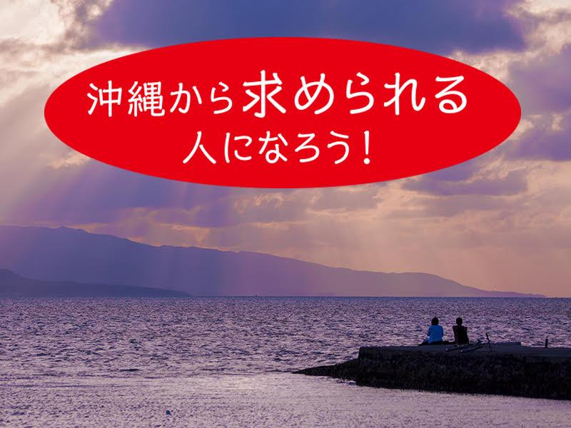 南国沖縄の幻想的な夕日