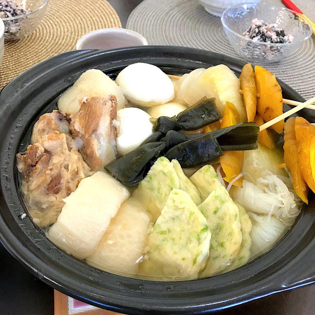 軟骨ソーキ入り沖縄風おでん
